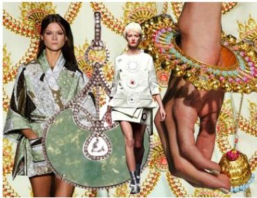 Spring-Summer 2013 Trend Board from Adorn London - Tales of the Orient